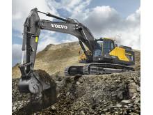 Volvo EC480E grävmaskin - Steg IV