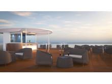 The Yacht Club – soldäck i två våningar med 180 sittplatser