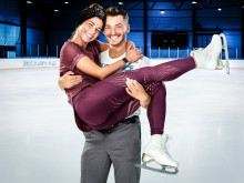 Dream-Team Sarah Lombardi und Joti Polizoakis bei HOLIDAY ON ICE wiedervereint