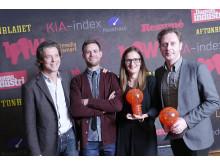 2012 års 100watt-vinnare i kategori Producent