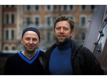 Mirko Lempert och Simon Alexanderson. Foto: Peter Larsson.