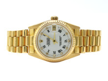 Klockor 31/5, Nr: 120, ROLEX, Oyster Perpetual, Datejust, Chronometer, Ref nr. 68278