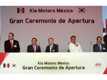 Åpningsseremoni Kia Mexico