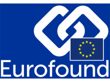 Eurofound logo - reversed