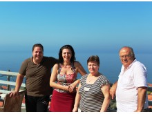 Hotel Vicky i Agios Isidoros på Lesbos