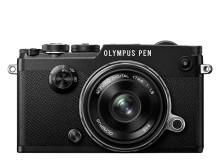 Olympus PEN F svart 17mmf1,8
