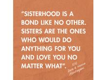 DinSko skriver systerhistoria – ny vårkampanj som hyllar alla tjejer