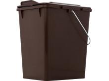 Komposthink med lock 10 liter