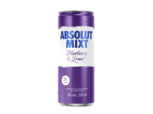 Absolut MIXT Blueberry Lime