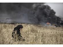 Bild: Bildjournalisten Paul Hansen från Gaza