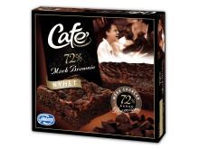 Afrikansk lyx i nya mörka Café Brownie