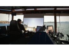 Hi-res image - Kongsberg Maritime - OTS allows users to control a real vessel under DP