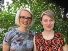 Klara Bendz och Emma Löfström