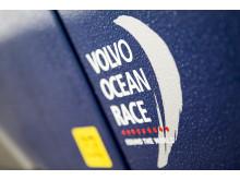 Volvo EC220E Extreme - bild på foliering Volvo Ocean Race