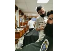 Homan Taghizadeh, Sharper Barbershop, Göteborg