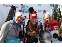 Vinnere fellesstart kvinner, NM 2016