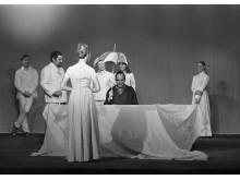 Ingmar Bergman under repetitionen av Ett drömspel, Dramaten 1970