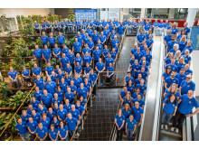 Sveriges Paralympiska Kommittés kandidater till Rio 2016, samlade vid camp april 2015