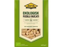 Ekologisk pasta fusilli bucati från Zeta
