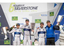 67 Ford GT crew wins at Silverstone 2017