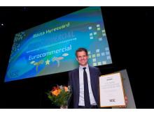 Eurocommercial är Bästa Hyresvärd 2016