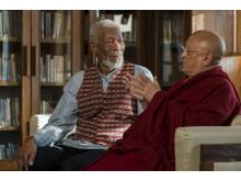 Morgan Freeman med Chokyi Rinpoche