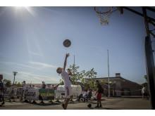 Skovlunde street basket