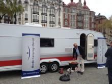 Nordic Camping & Resorts årsstämma i KABE husvagn på Strandvägen