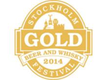Guldmedalj Laphroaig Stockholm Beer and Whisky Festival 2014