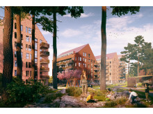Södra Jakobsberg, Järfälla - 500 nya bostäder