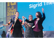 Winners of start-up challenge at NLSDays  2018