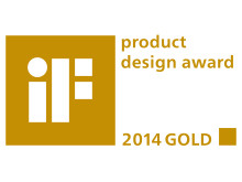 iF Product Design Award Gold 2014_01