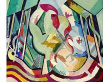 "William Scharff: ""Hen Painting"""