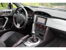 Subaru BRZ utrustas med navigation som standard