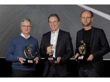 Auto Trophy 2017 - Audi CEO Rupert Stadler, Chefredaktør for AUTO ZEITUNG Volker Koerdt, Audi Designchef Marc Lichte