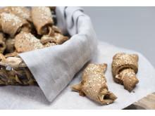 Glutenfrie, grove ostehorn