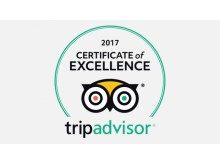 Certificate of Excellence, tripadvisor