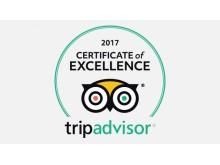 Certificate of Excellence, tripadvisor