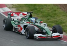 Björn Wirdheim - test Formula 1