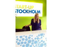 Start-Up Stockholm Anna Nedeby Bar-Am i receptionen