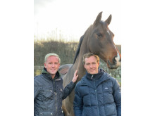 Tobbe Larsson och Mads Hendeliowitz
