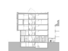 Sektion AA. Illustration: Dario Marazuela, AIX Arkitekter.