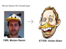 Duckifisering av Morten Ramm