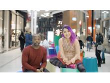 Kodjo Akolor och Yanjaa Wintersoul