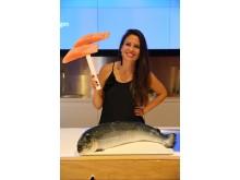 Tyrkiske kostrådseksperter lærer om nprsk laks og makrell