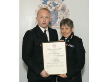 Commendations - PC Billy Crutchlow