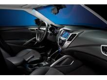 Hyundai Veloster (interiør)