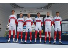 Juniorlaget under VM fellesstart 2014