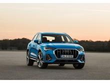 Audi Q3 (turboblå) statisk front