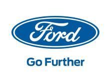 Ford logo med hvid baggrund